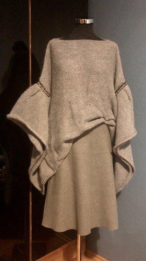 Zara Jersey holgados gris