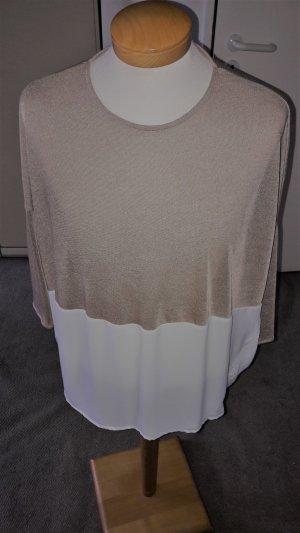 Zara Pulli Gr. L-- XL wurde in den Seiten weiter gemacht und nie getragen