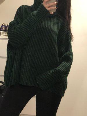 Zara Pull à gosses mailles multicolore