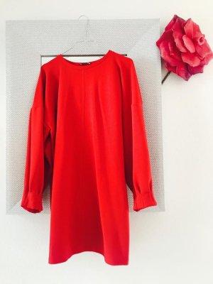 Zara Jersey largo rojo