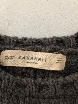 Zara Coarse Knitted Sweater multicolored