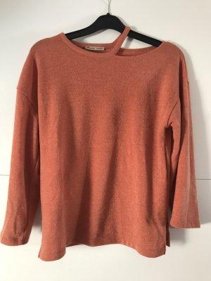 Zara Maglione arancione scuro-cognac