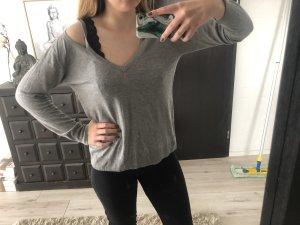 Zara Maglione lungo grigio chiaro-grigio