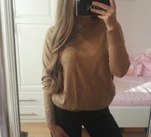 Zara Jersey de cuello redondo multicolor