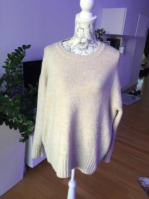 Zara Pullover beige Creme Gr S