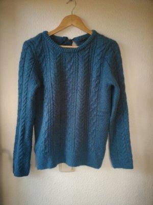 Zara Pullover blau, S-M