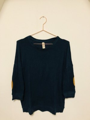 Zara Oversized Sweater petrol