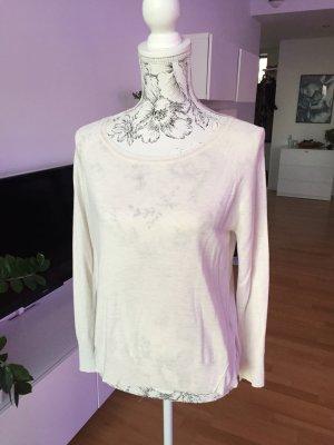 Zara Pullover Creme weiß Gr M 38
