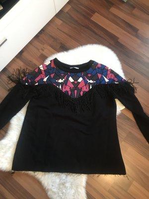 Zara Pullover Damen Fransen