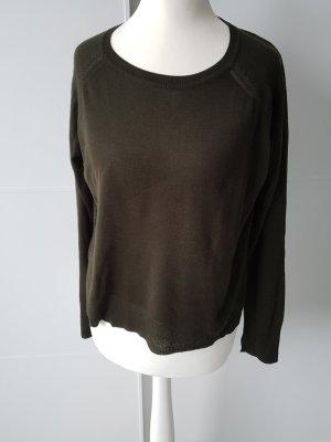 ZARA Pullover, dunkelgrün, Gr.S