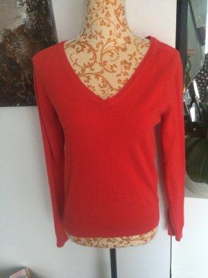 Zara Pullover Gr L rot