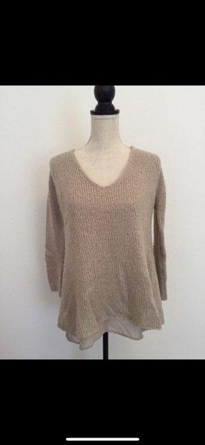 Zara Tricots brun-beige