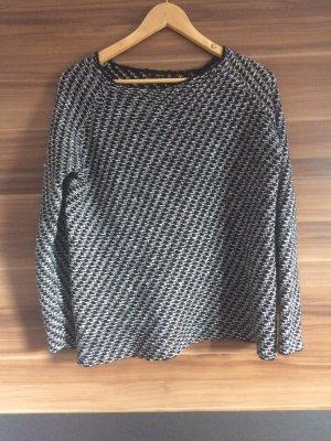 ZARA Pullover Gr. S M 36 38 schwarz grau NP €45