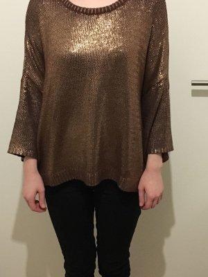 ZARA Pullover in Bronze