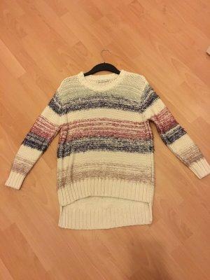 Zara Pullover Knit Pulli Strick Streifen S 36 38 Oversize