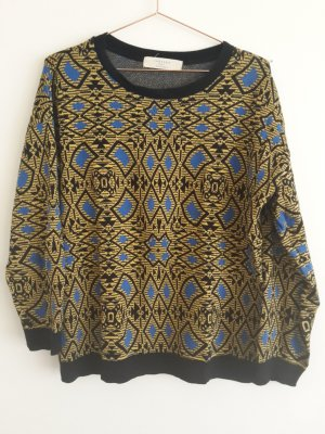 ZARA Pullover L Muster Strickpullover Sweatshirt kenzo