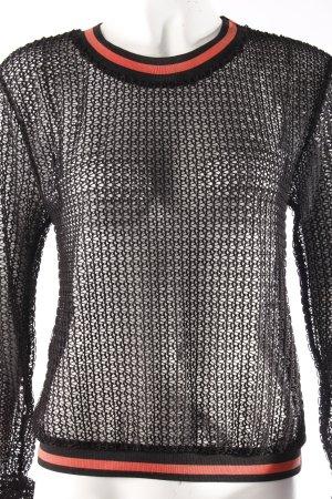 Zara Pullover Mesh-Optik