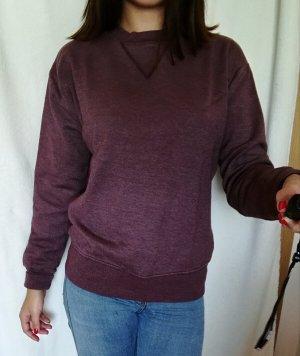 Zara Maglione oversize grigio-lilla