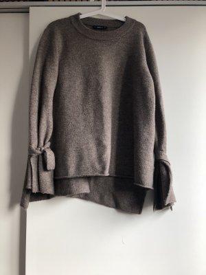 Zara pullover mit schleife