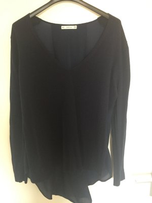 Zara Pullover mit transparentem Rückenteil