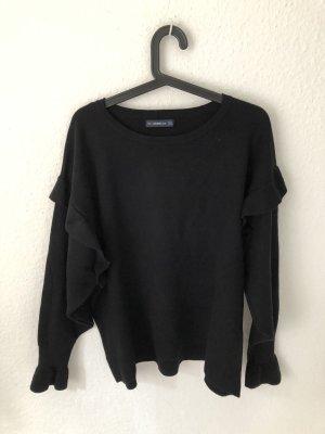 Zara Knit Maglione oversize nero