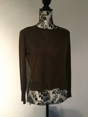 Zara - Pullover Olivgrün Gr. S