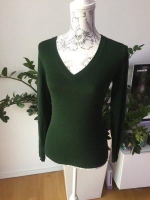 Zara Pullover Pulli dunkelgrün Gr S