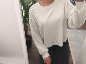 Zara Basic Oversized Sweater white