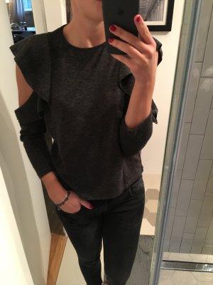 Zara Maglione grigio-antracite
