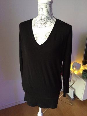 ZARA Pullover schwarz Gr L