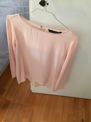 Zara Top rose clair