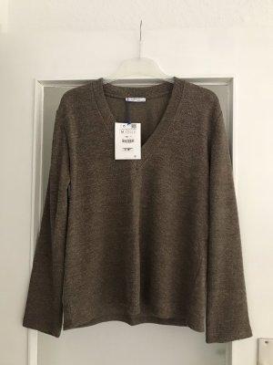 Zara Pullover V Neck M neu