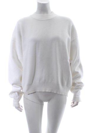 Zara Pullover weiß Urban-Look