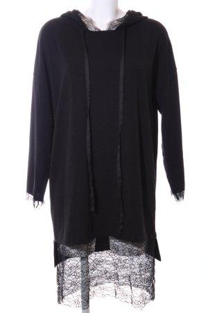 Zara Robe pull noir style décontracté