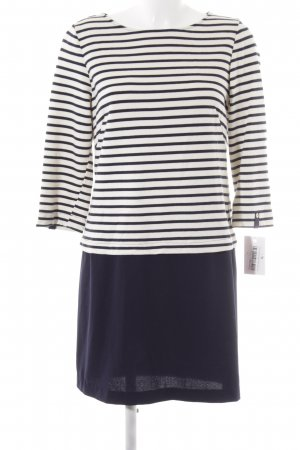 Zara Sweater Dress cream-dark blue casual look