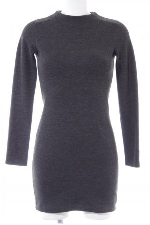 ZARA Pulloverkleid dunkelgrau Casual-Look