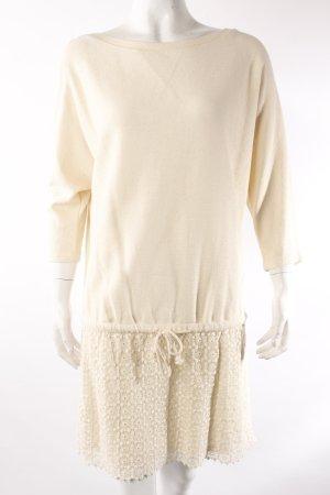 Zara Pulloverkleid mit Spitzenrock