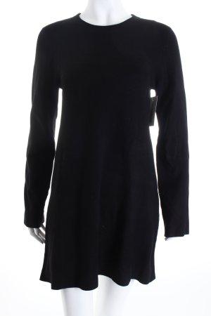 Zara Pulloverkleid schwarz schlichter Stil