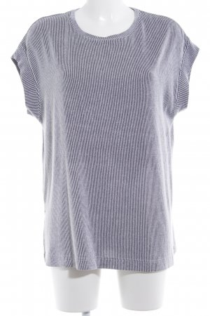 Zara Sweater Dress black-white striped pattern casual look