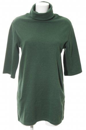 Zara Sweater Dress forest green casual look