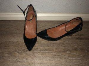 Zara Mary Jane pumps zwart