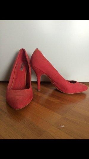 Zara Red High Heels *Schick*