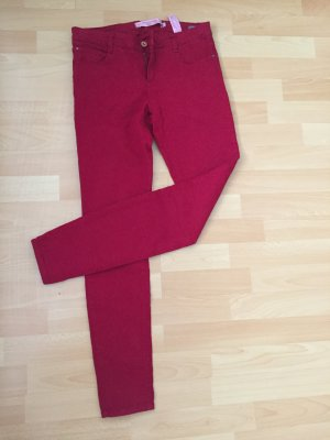 #zara #red #hose #jeans