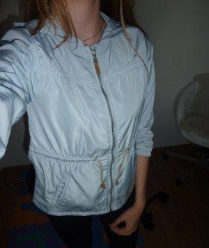 Zara Imperméable bleu clair-bleu azur
