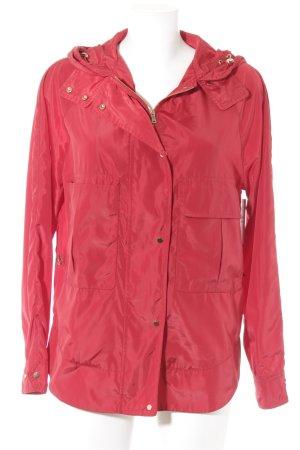 Zara Imperméable rouge style décontracté