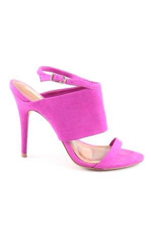 Zara Sandalo con cinturino rosa elegante