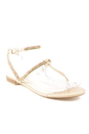 Zara Strapped Sandals beige beach look