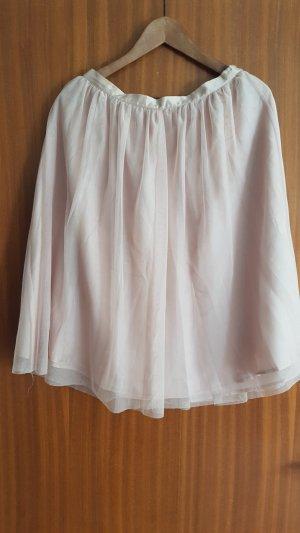 Zara Basic Tulle Skirt dusky pink