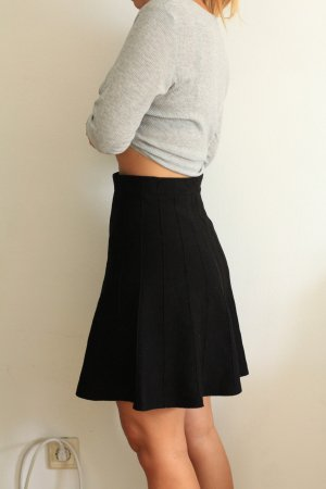 Zara Rock ausgestellt Gr. XS - schwarz