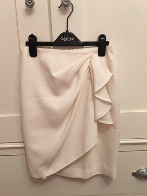 Zara Flounce Skirt white